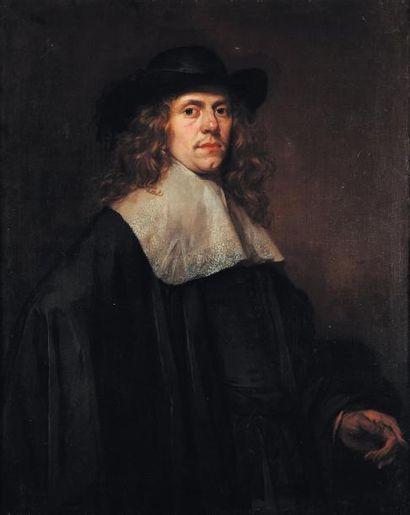 ECOLE HOLLANDAISE VERS 1640, entourage de Frans Hals