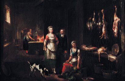 ATTRIBUÉ À JEAN-BAPTISTE LAMBRECHT (1680-APRÈS 1731)