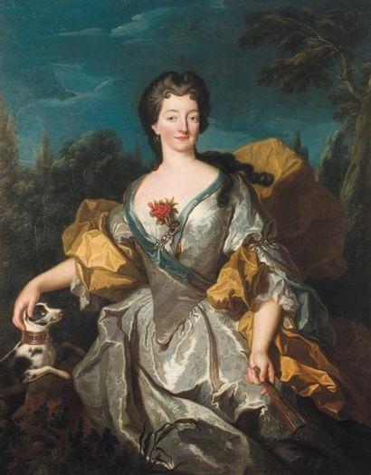 ATTRIBUÉ À MARTIN VAN MYTENS (SUÈDE 1695-1770)
