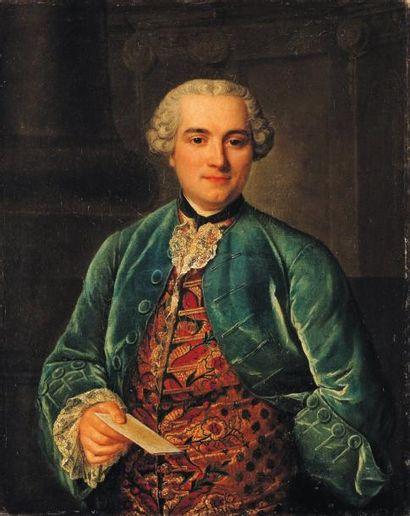 ECOLE FRANÇAISE DU XVIIIe SIÈCLE, ENTOURAGE DE LOUIS TOCQUE