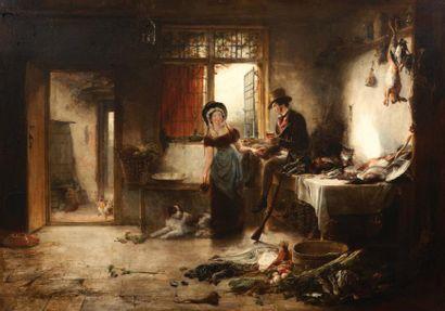 SIR DAVID WILKIE (CULTS 1785 - AU LARGE DE MALTE 1841)