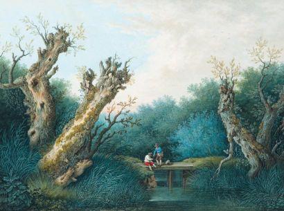 JAKOB PHILIPP HACKERT (PRENZLAU 1737 - PIETRO DI CAREGGIO 1807)