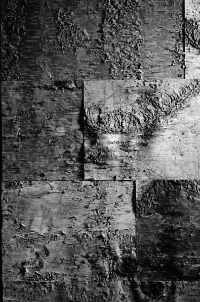 WERNER NEUMAN (NÉ EN 1966) Édition limitée Fauteuil Bois, écorce de bouleau vernis...