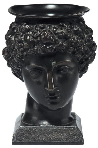 Encrier représentant Antinous Bronze XIXe...