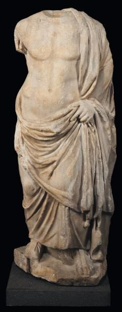 Esculape, dieu de la Médecine Statue représentant...
