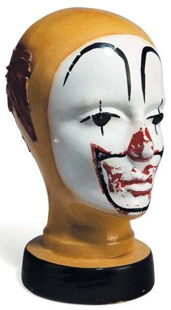 Tête de clown Céramique peinte Allemagne...