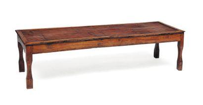Table basse en bambou H_39 cm L_151 cm P_48...