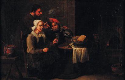 Éc. flamande du XIXe s., suiveur de G. van Tilborg