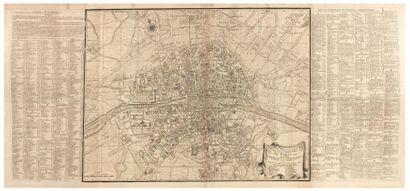 JAILLOT (Bernard Jean Hyacinthe) Plan de la ville, cité, université et faubourgs...