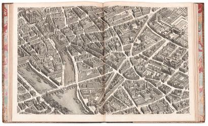 TURGOT (Michel-Étienne) Plan de Paris commencé l'année 1734, dessiné et gravé, sous...