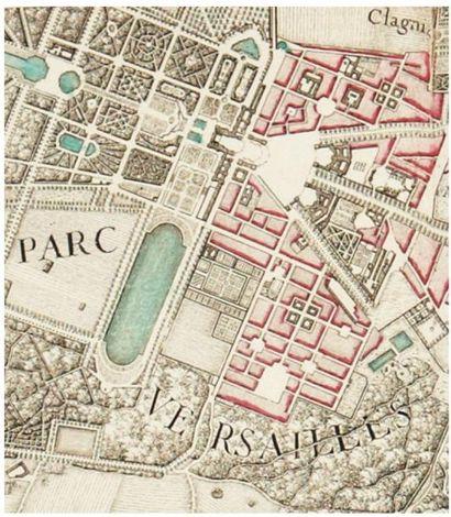 DELAGRIVE (Jean, abbé) Environs de Paris levés géométriquement par M. l'abbé de La...