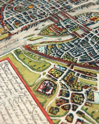 BRAUN (Georg) & HOGENBERG (Frans) Lutetia, vulgari nomine Paris, urbis Galliae maxima....