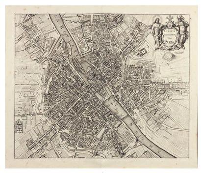 [JANSSONIUS (Johannes)] Lutetia Parisiorum vulgo Paris. Amsterdam, [1682]. 425 x...