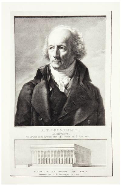 BRONGNIART (Alexandre Théodore)