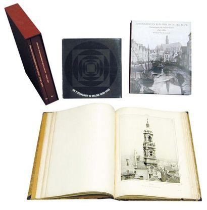 Plusieurs ouvrages du 19e siècle sur la Belgique,...