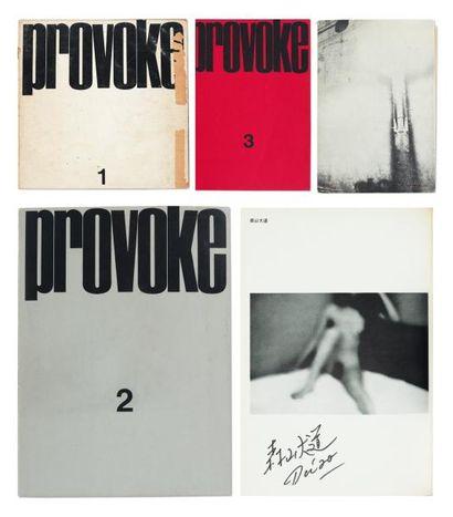 COLLECTIF Provoke (1, 2, 3, et 4 & 5). Les...