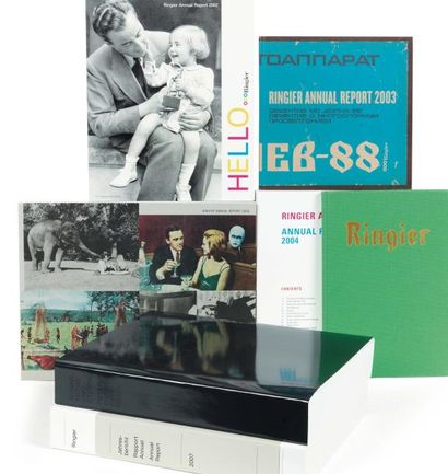 Six rapports annuels de Ringier: Ringier...
