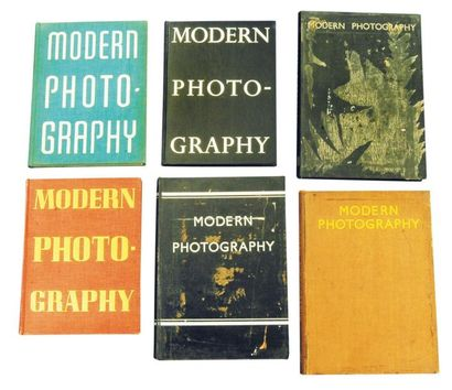 6 Numéros de Modern Photography. The Special Automn number of «The Studio». «1931»:...