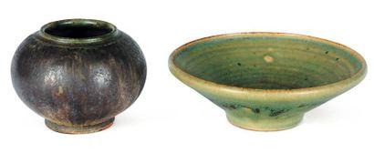 Ensemble de deux céramiques Coupelle en céramique...