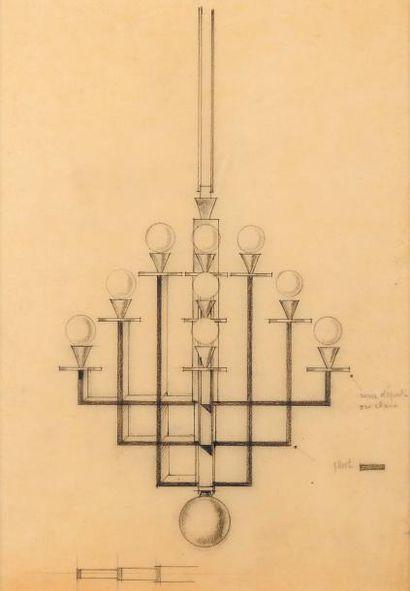 EDGAR BRANDT (1860-1980) (dans le gout de )
