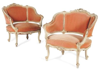 Paire de fauteuils de style Louis XV H_77...