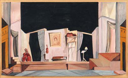 NICOLAS ISZELENOV (1891-1981) et MARIA LAGORIO (1893-1979)
