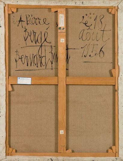 Bernard Buffet 1928 - 1999 L'Atelier, 1956 signé Bernard Buffet et date 56 en bas...