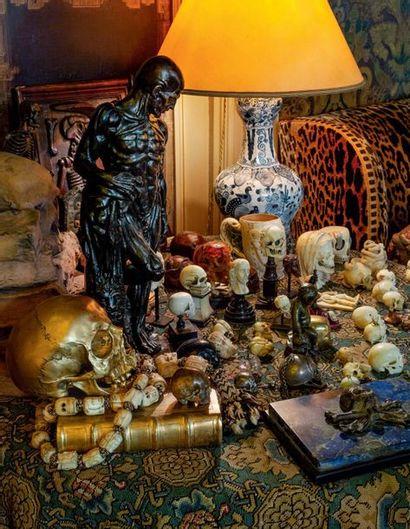 Dans le style du XVIIe siècle SAINT BARTHÉLEMY TENANT SA PEAU IN 17TH CENTURY STYLE...