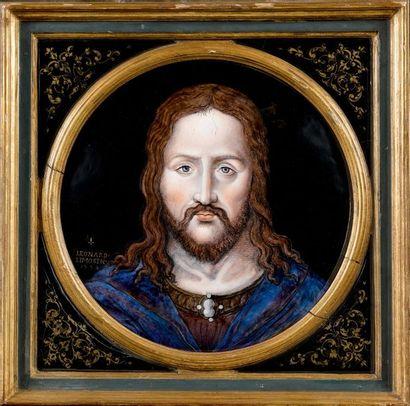 LÉONARD LIMOSIN (1500-1580), LIMOGES, 1554