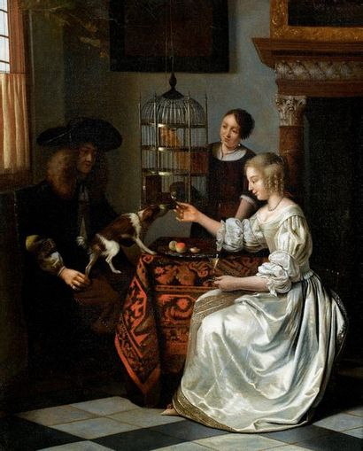 PIETER DE HOOCH 1629 - 1684