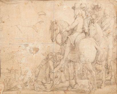 ATTRIBUÉ À ADAM FRANÇOIS VAN DER MEULEN (BRUXELLES 1632 - PARIS 1690)