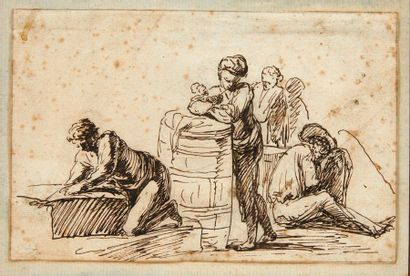 Attribué à Joseph VERNET (Avignon 1714 - Paris 1789)
