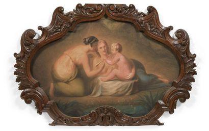 ECOLE FLAMANDE, VERS 1800, ENTOURAGE DE CORNÉLIS LENS