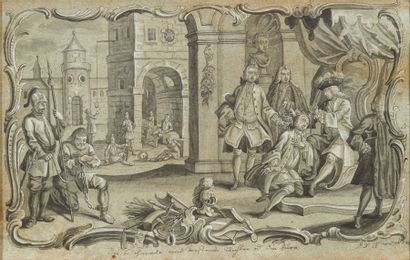 JOHAN DAVID NESSENTHALER (V. 1717 - 1766)