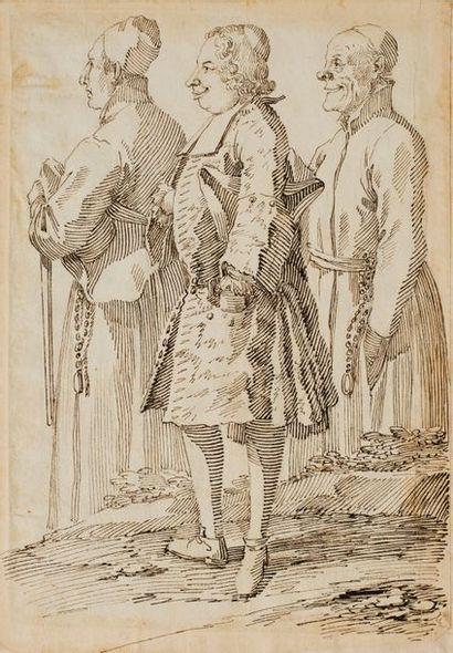 PIER LEONE GHEZZI (ROME 1674 - 1755)