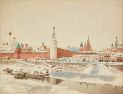 Ecole Russe de la fin du XIXe siècle