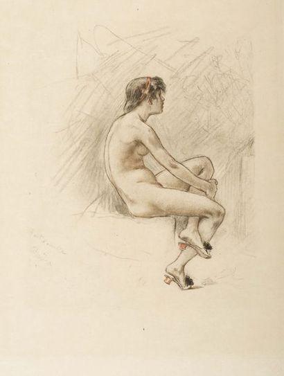 D'APRÈS FÉLICIEN ROPS (1833-1898) PAR A.BERTRAND