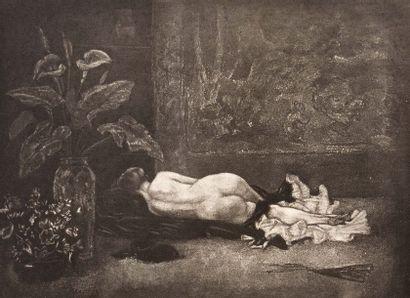D'après Félicien ROPS (1833-1898)