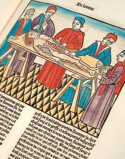 BARTHOLOMEUS ANGLICUS. Cy commence ung tres excellent livre nomme le proprietaire...
