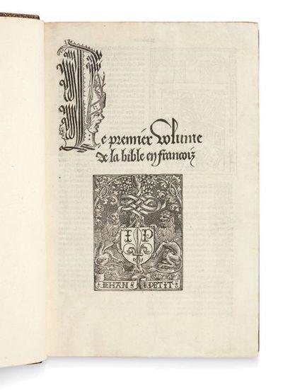Le Premier [- Second] Volume de la Bible...