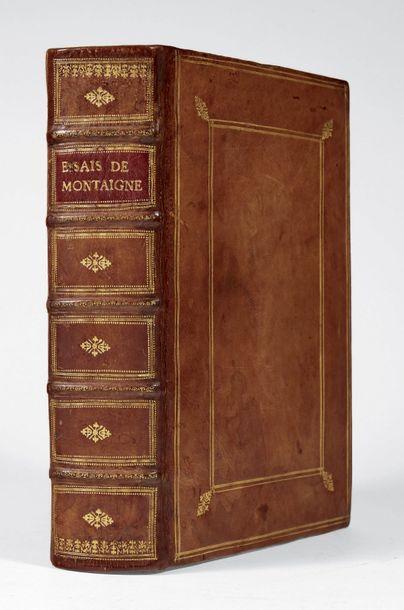 MONTAIGNE, Michel de.
