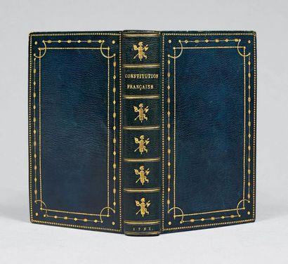 La Constitution française, présentée au Roi...