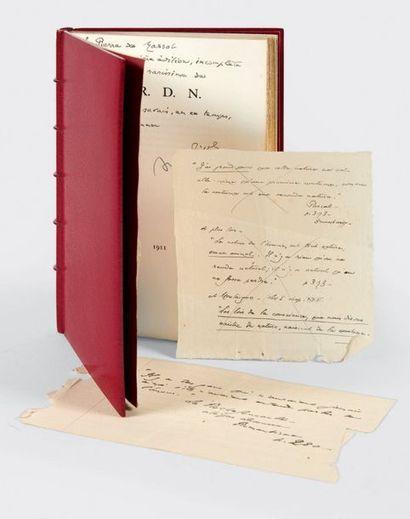 [GIDE, André.] C.R.D.N. Sans lieu [Bruges, The St. Catherine Press Ltd], 1911. In-12...