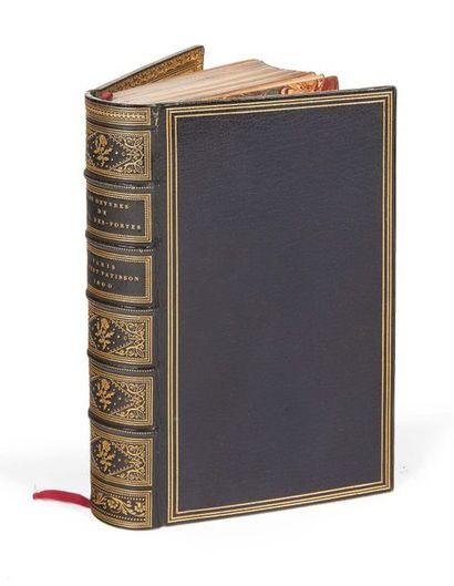 DESPORTES (Philippe) Les premières oeuvres. Patisson, 1600. Petit in-8. Maroquin...