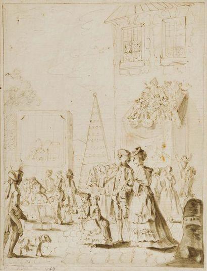 PIERRE ALEXANDRE WILLE DIT WILLE FILS (PARIS 1748 - 1821)