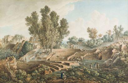 Louis François CASSAS (Azay-le-Ferron 1756 - Versailles 1827)