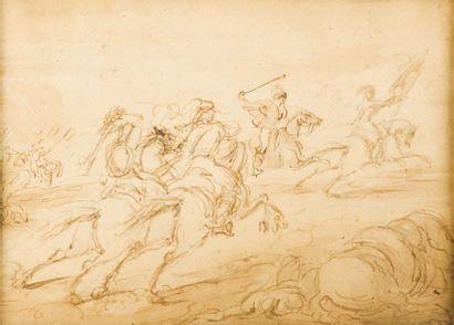 Attribué à Sir John James STEUART (Rome 1779 - Édimbourg 1849)