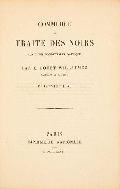 BOUËT-WILLAUMEZ (Édouard)