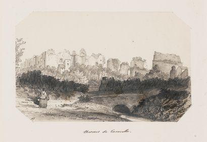 ATTRIBUÉ À PHILIPPE B. DE ROUVRE Actif au XIXe siècle