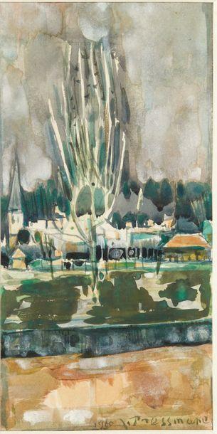 (1904-1967)<br/>Paysage, 1960